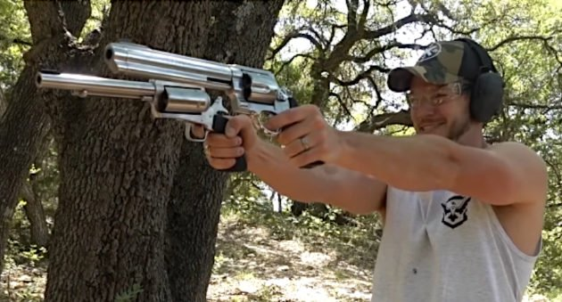 Shooting Big Revolvers