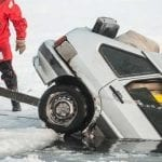5 Times Vehicles Sunk Through Thin Ice