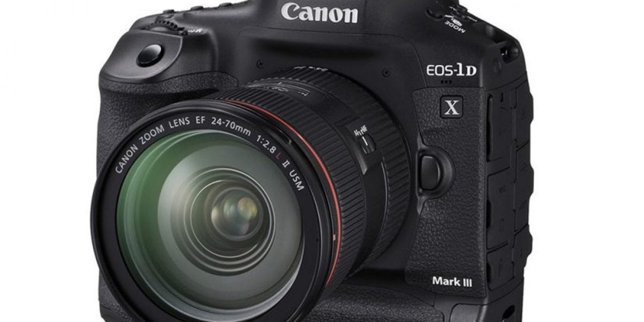 Canon Releases EOS-1D X Mark III Details, Pricing And Availability