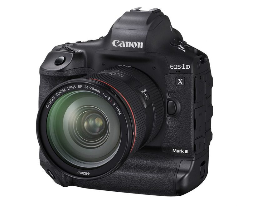 Canon Releases EOS-1D X Mark III