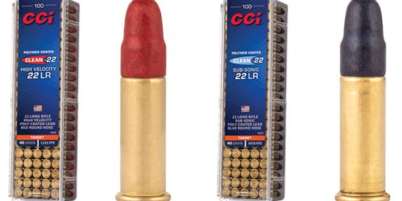 CCI's 'Clean-22' Ammunition Cuts Down on Fouling, Buildup, and Residue