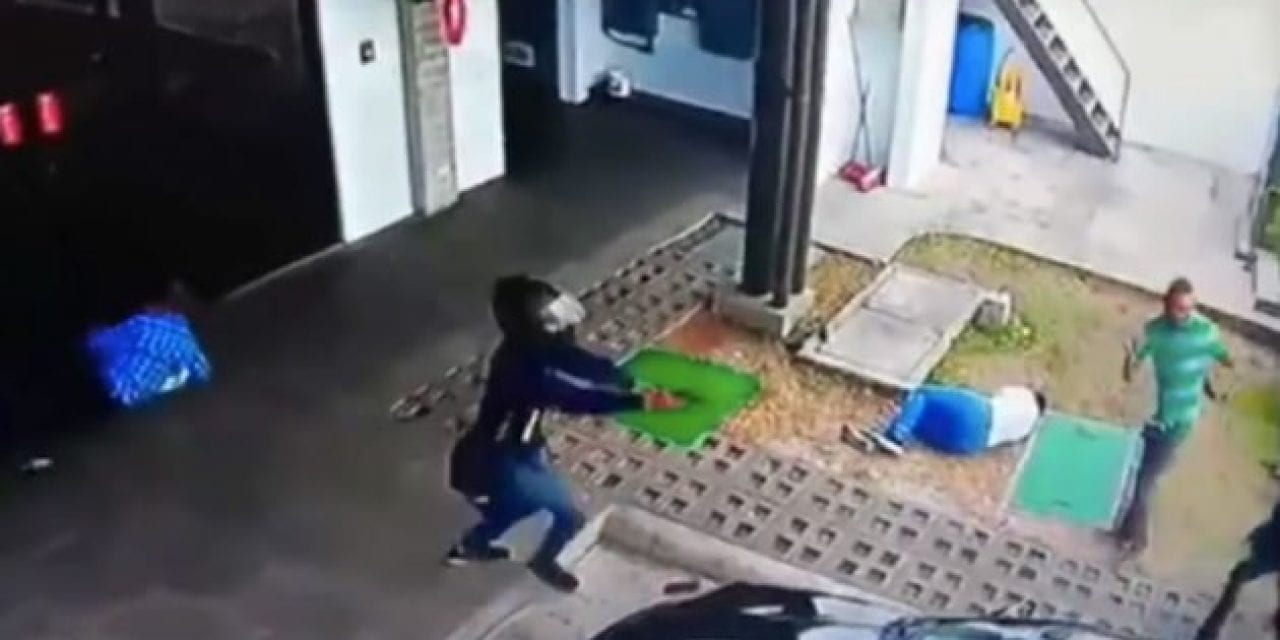 Attempted Armed Robbery Turns Into Complete Chaos