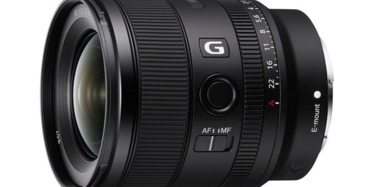 Sony Introduces FE 20mm F1.8 G Fast Full-Frame Prime