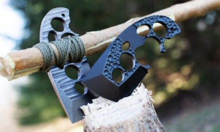 The New Axxis Survival Knife/Axe is an Innovative Blast from the Historic Past