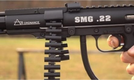 This Belt-Fed, Full-Auto Pellet Gun is Brilliantly Awesome