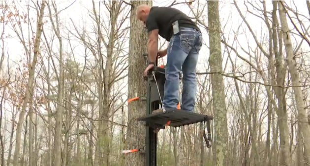 Motorized Treestand