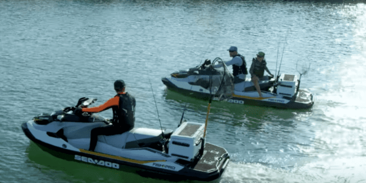 Sea Doo's Fishing Jet Ski is Still as Awesome as It Was When It First Came Out