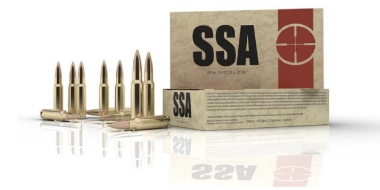 SSA Ammunition By Nosler: The Ammo That's Optimized for MSRs