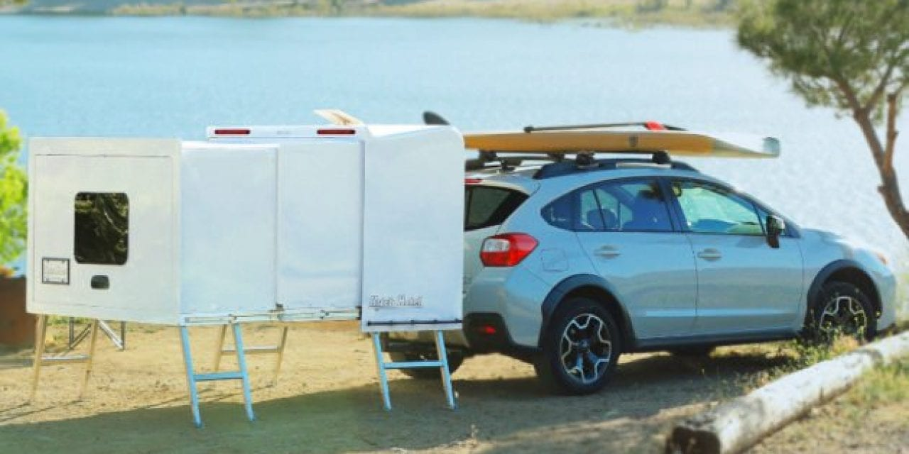 The Hitch Hotel, an Incredibly Compact Camper Designed for Smaller Vehicles