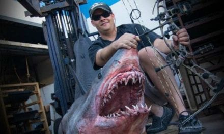 Footage Shows World-Record Mako Shark Taken by Bow