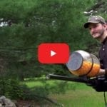 Guy Handcrafts a Cheese Puff Machine Gun