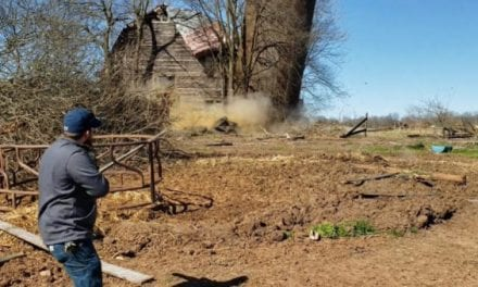 Rednecks Use Tannerite to Demolish an Old Farm Silo