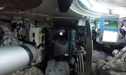 Reloading an M1 Abrams Tank From the Inside