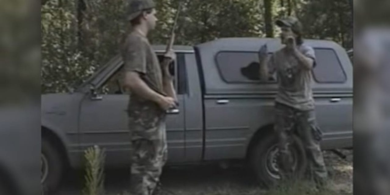 T.K. and Mike Get Locked Out of their Truck in Hilarious Turkey Hunting Clip