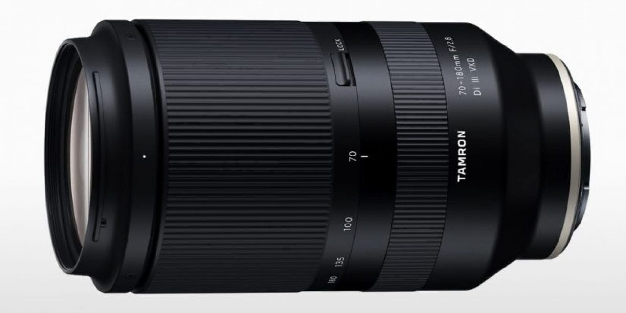 Tamron Announces Pricing, Availability of 70-180mm Zoom For Sony
