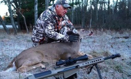 A Missed Shot From a .50 BMG Still Kills a Deer