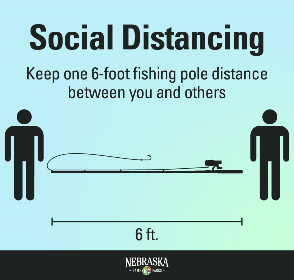 Social Distancing Fishing