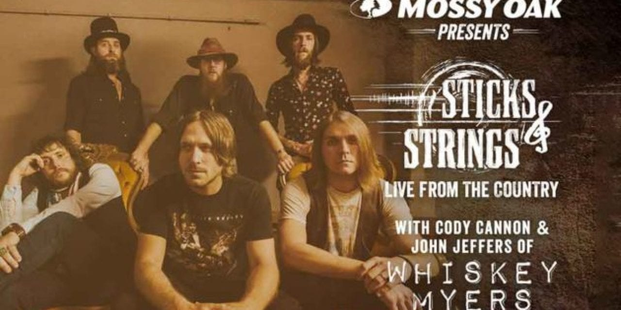 Mossy Oak Welcomes Whiskey Myers to 'Sticks & Strings' Live Stream
