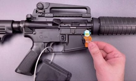 Poorly Designed AR-15 Gun Lock Bypassed in Seconds with a Child's Lego Figure