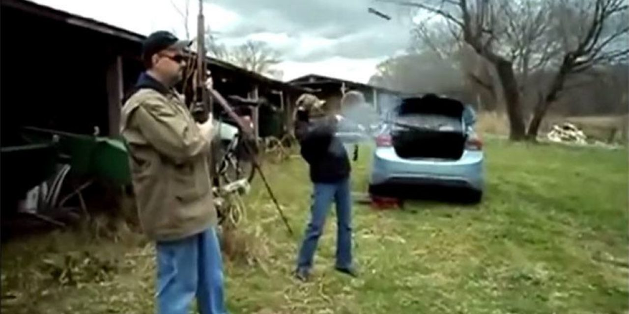 Rifle Explodes in Girl's Hands When She Pulls Trigger
