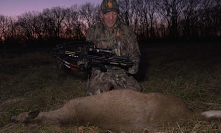 Terry Drury Harvests the First Deer Ever Taken with the New PSE Warhammer Crossbow