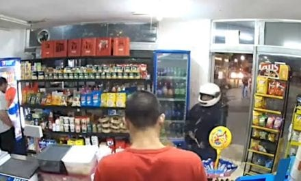 Armed Robber Foils His Own Crime by Shooting Himself While Re-Holstering Weapon