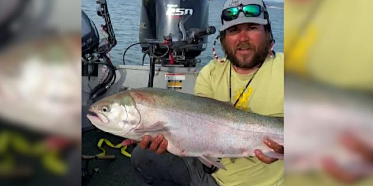 Idaho Has a New State Record Catch-and-Release Rainbow Trout