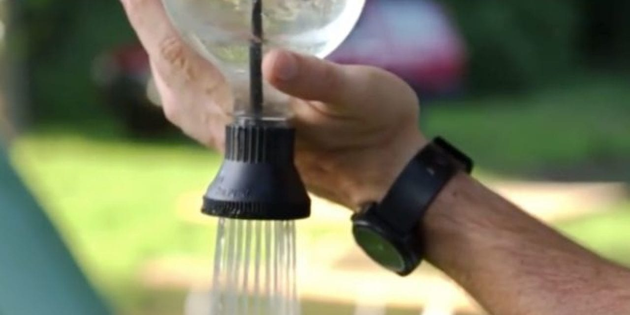 Simple Shower: The $14 Gadget That Turns a Water Bottle Into a Shower