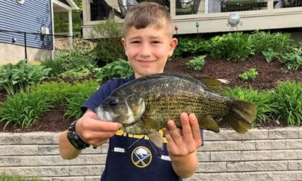 Youth Angler Sets New Rock Bass Record for New York