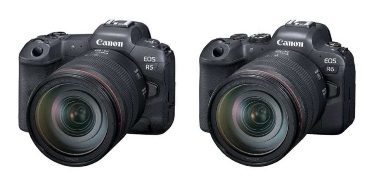 Canon Introduces EOS R5 And EOS R6