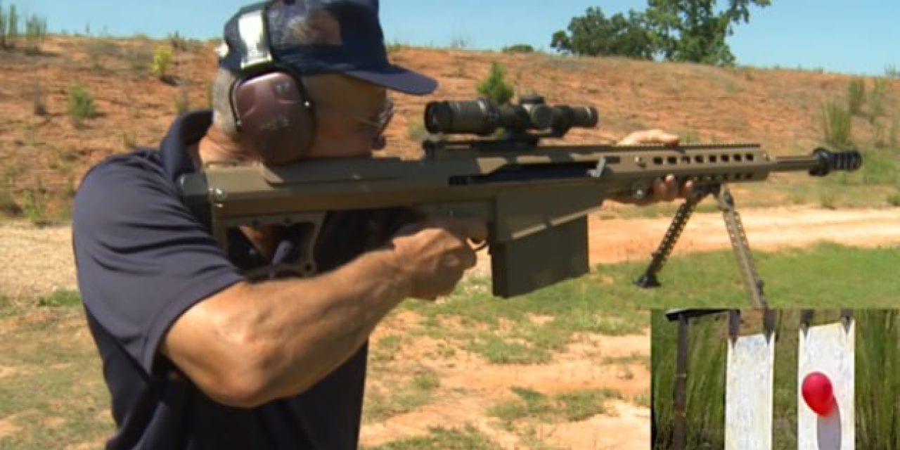Jerry Miculek Nails 1,000-Yard Off-Hand Shot in Under 2 Seconds
