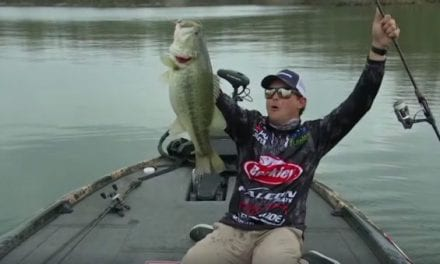 Justin Atkins Hauls in MLF Record-Breaking 10-Pound Bass