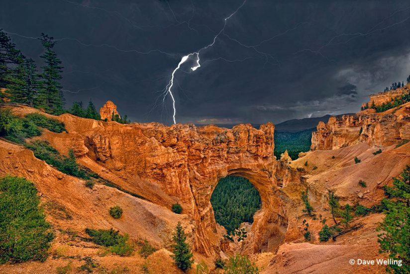 Example image of monsoon photography