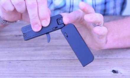 The Gun That's the Size of a Credit Card and Actually Shoots Real Bullets