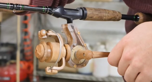 Homemade Spinning Reel