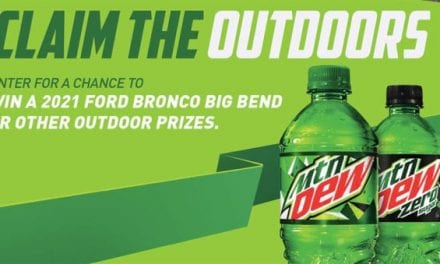 """Mountain Dew and Gerald Swindle Want to Help You """"Claim the Outdoors"""""""