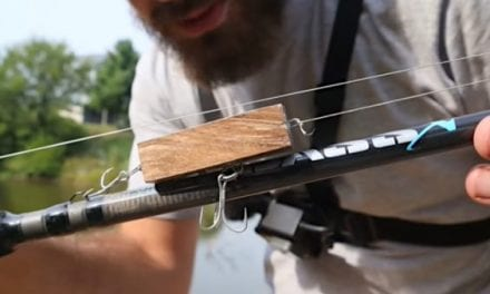 Testing a Simple Block of Wood Lure on Largemouth Bass