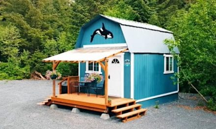 Alaskan Converts Simple 12×16 Shed Into Efficient Tiny House