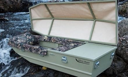 Jon Boat Casket: Now the Deceased Can Fish for Eternity