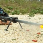 The Awesome Power of a 20mm Rifle, Highlighted in Slow Motion Footage