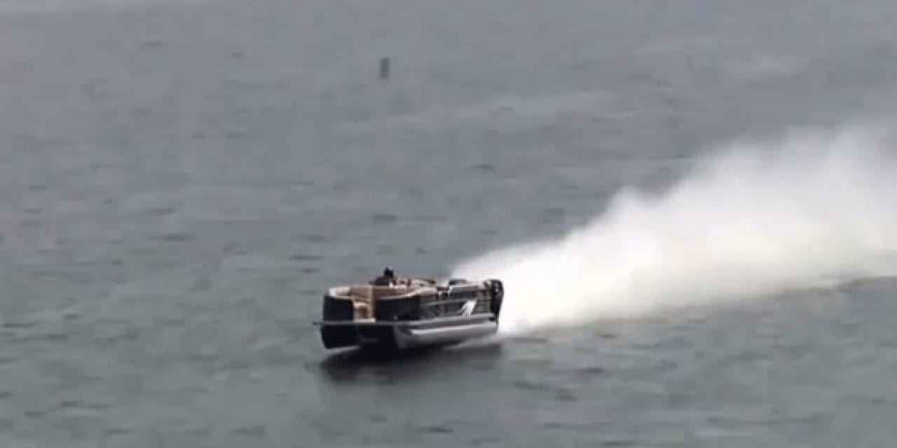 Fastest Pontoon Boat in the World Hits 114 MPH