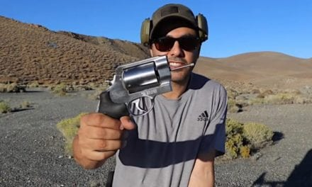 Guy Fires 500 Smith & Wesson Revolver With No Barrel