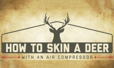 How to Skin a Deer with an Air Compressor, Explained in Infographic Form