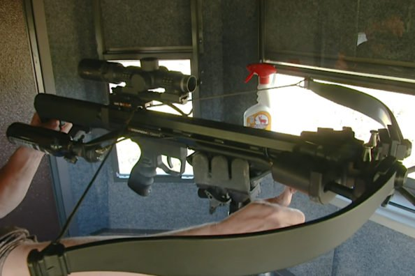 Air Powered Crossbow
