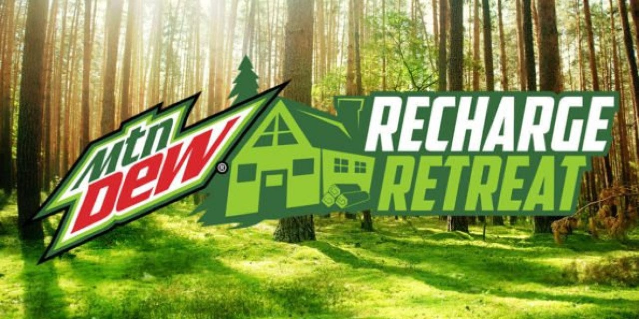 MTN DEW Offers Outdoorsmen Chance to Win Variety of Adventures With 'Recharge Retreat'