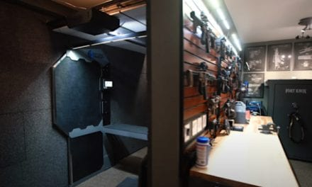 Private Home Has an Indoor Gun Range and Firearms Collection That Dreams Are Made Of