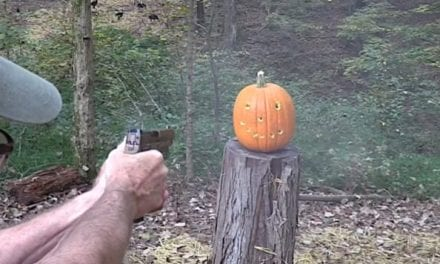 Pumpkin Carving the Fun Way: With a Sig Sauer M17