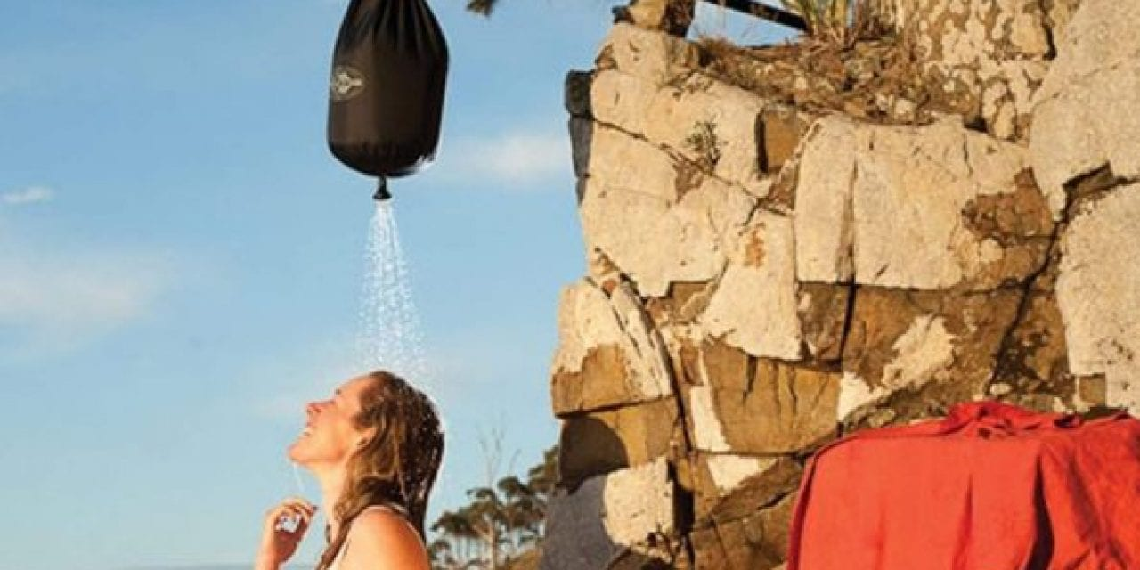 The Sea to Summit Pocket Shower Is a Must-Have Camping Accessory