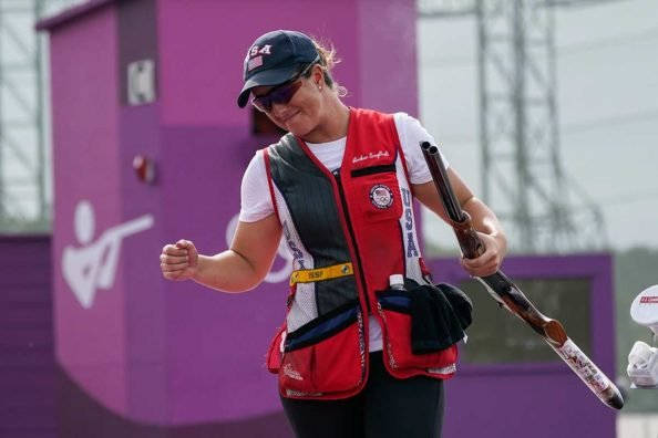 Olympic Gold Goes to U.S. Army 1st Lt. Amber English After Record-Setting Round