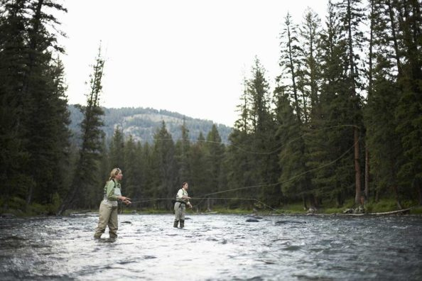 Female Fly Fishing Guides